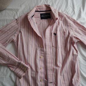 Abercrombie kids dress shirt
